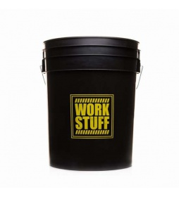Work Stuff Wiadro Black Bucket 20l HDPE- RINSE