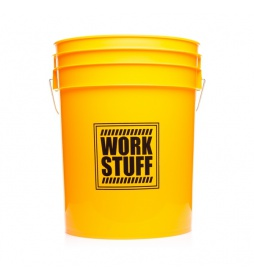 Work Stuff Wiadro Yellow Bucket 20l HDPE- WASH