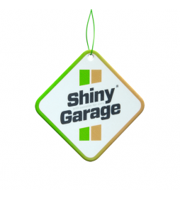 Shiny Garage Square Air Freshener - Cynamon Jabłko