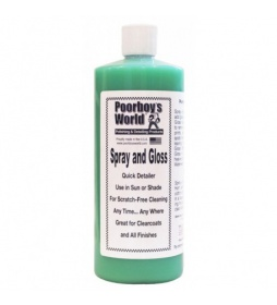 Poorboy's World Spray and Gloss QD 964ml