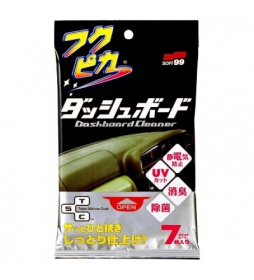 Soft99 Fukupika Dashboard Cloth 7szt