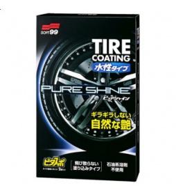 Soft99 Water-Based Tire Coating Pure Shine 100ml