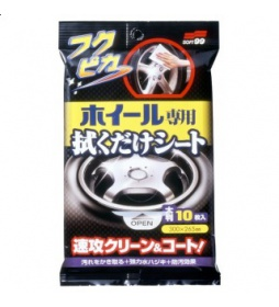 Soft99 Wheel Cleaning Wipe 10szt