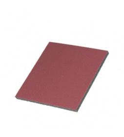 Colourlock Pad szlifujący do skóry czerwony