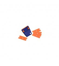 EZ Grip Plastic Razor Blade Holder 5 Blades