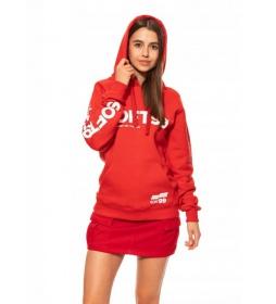 Soft99 Czerwona Bluza z Kapturem- M