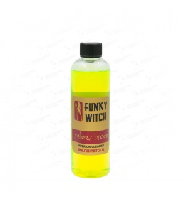 Funky Witch Yellow Broom Interior Cleaner 500ml