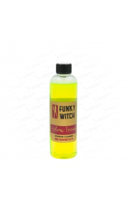 Funky Witch Yellow Broom Interior Cleaner 500ml - 1