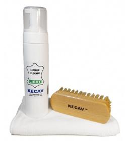 Kecav Leather Cleaner Light set