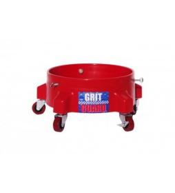 Grit Guard Wózek Wiadra Czerwony SET Advance +