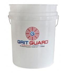Grit Guard Type Detailing Carwash Bucket 19L White