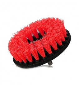 Chemical Guys Carpet Brush Heavy Duty Red