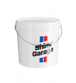 Shiny Garage Wiadro białe 20L