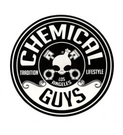 Chemical Guys Logo Sticker Circle 125mm