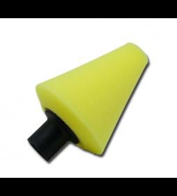 ShineMate Stożek polerski T80 High Cut Żółty