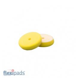Flexipads Gąbka polerska rzep 90mm X-Slim Yellow