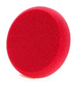 NAT Czerwona Średnio Miekka Gąbka polerska 150mm