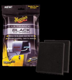 Meguiar's Ultimate Black Sponges 2 szt.