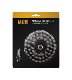 ADBL Leather Twister 125mm - Szczotka do skór