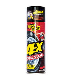 Soft99 4-X Tire Cleaner - Dresing do opon
