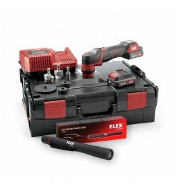 FLEX PXE 80 10.8-EC/2.5 set aku+latarka SF150-P