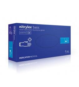 NITRYLEX rękawiczki niebieskie S 100 szt.