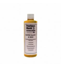 Poorboy's Super Slick Wax conc. shampoo 473 ml