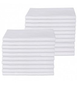 Colourlock szmatki białe 20 sztuk