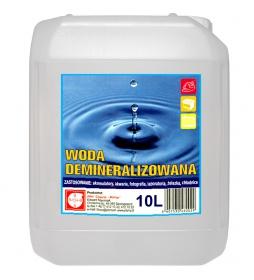 Woda demineralizowana destylowana 10L