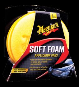 Meguiar's Soft Foam Applicator Pad (2-pack)